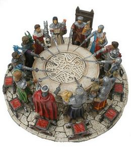 Les figurines de chevaliers et du moyen age - Les 12 principaux chevaliers de la table ronde ...